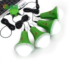 격자 방수 LED 태양 야영 하이킹 토치 떨어져 소형 태양 빛