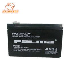 Различные стандартные опции для свинцово-кислотных аккумуляторных батарей источника бесперебойного питания 12V 7.2ah