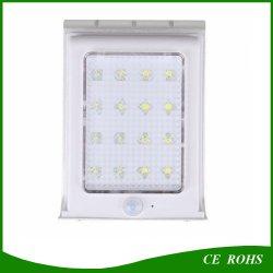 Солнечная панель питания 16 светодиод для поверхностного монтажа движения/звук/Ray датчика 3 в 1 сад световой индикатор на открытом воздухе водонепроницаемый настенный светильник поверхности алмазов