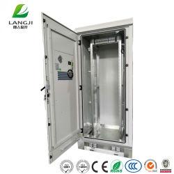 19 Polegadas Gabinete Telecom exterior 32u 37u 40u gabinete de equipamentos de distribuição de energia