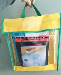 Sacchetto trasparente di memoria del libro del sacchetto del documento dell'archivio di paesaggio del ritratto del PVC