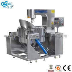سكر فشار فشار الكاراميل الساخن والساخن من الفولاذ المقاوم للصدأ الساخن آلة الطلاء المعتمدة من شهادة CE