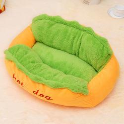 Hot Dog Pet de lits d'hiver canapé chien coussin intérieur chambre
