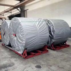 Pianta termoresistente a temperatura elevata del cemento del nastro trasportatore di cinghie di gomma del PE