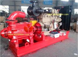 مضخة ضغط مياه الطرد المركزي الأفقية متعددة المراحل مع محرك الديزل (D&MD؛ DGC)
