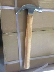 La forja de múltiples herramientas de hardware OEM Claw Hammer con mango de madera