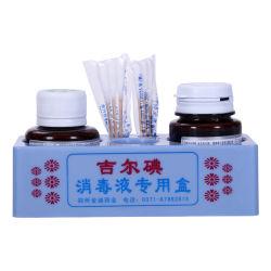 China-Hersteller Jier Jod-Haut-desinfizierender Gebrauch vor Einspritzung