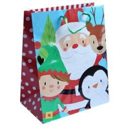 2021 Nieuw ontworpen kerstpapier cadeautassen
