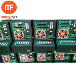 Mini África Monedas Mario Bergmann La máquina de ranura de la ruleta electrónica con Bill Venta caliente
