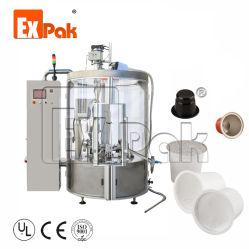 Jiangsu Expak Rotary K tasse tasse à café Nespresso Capsule Machine de remplissage d'emballage d'étanchéité