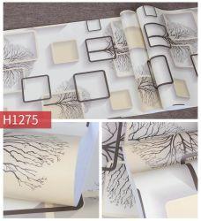 2020 Moda moderna geometrica 3D carta da parati Wallpaper disegni PVC Decorazione domestica