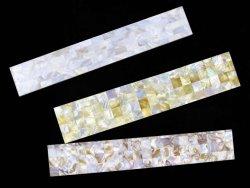 Envío rápido de los depósitos de agua dulce natural Río mosaicos Mosaicos Shell de papel de alta calidad