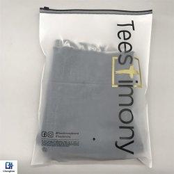 O logotipo personalizado plástico impresso Sacos de fecho de Vestuário Vestuário Embalagem
