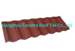 سقف البيت الكلاسيكي أرخص سعر الحجر المطلية على السطح ساخنة مواد السقف للزينة على السطح