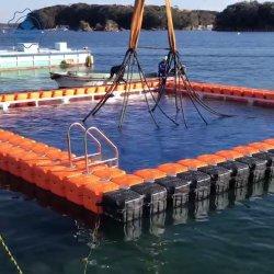 Gebruikt modulair drijvend dok voor waterplatform drijvende ponton