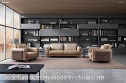 Высокие задние панели с удобными кожаными PU диван в форме буквы L гостиной есть диван устанавливает современном итальянском кожаный диван