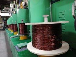 Adhésif parfait émaillé Al fil rond pour enroulement du transformateur utilisé dans Machinese enroulement du transformateur à haute vitesse