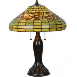 Tiffany stile lampade da tavolo Art vetro paralume Tiffany tavolo in vetro Lampada