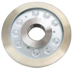 Unterwasserlicht 24With36W der Leistungs-LED wärmen weißes Brunnen-Licht