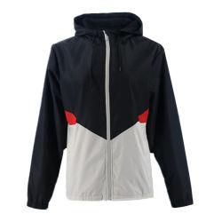 Оптовая торговля корейском стиле Sexy плюс размер Streetwear колпачковая куртки черный зимнего ветра автоматический выключатель бомбардировщик куртка для женщин
