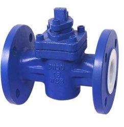 우수한 품질의 PTFE 라인 플러그 밸브