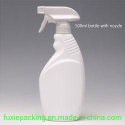 500mlは透過スキンケアのローションのプラスチックびん洗浄容器のシャンプーのパッキング出版物ポンプびんを卸し売りする
