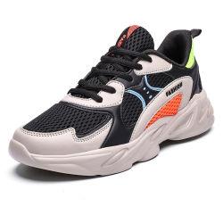 Низкая цена нового дизайна велюр натуральная кожа спортивной обуви Custom работает обувь