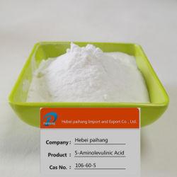 أحماض أمينية غير بروتين 99% Purity CAS 106-60-5 حمض بنتاونيك، 5-amino-4-Oxo-المستخدم في تخليق ثنائي أكسيد الليم