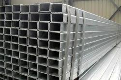 مقاس 75 × 80 × 80 مقاس 80 × 80 مقاس جيد الجودة، مقاس الأنبوب الفولاذي المستطيل من الجدار الرفيع 100x100 مغلفن أنبوب مربع