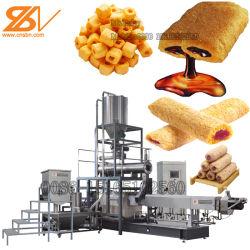 Puff automatico di mais Stainless spuntini formaggio palla ricci Kurkure Macchina per la produzione di Cheetos