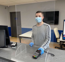 공장 직매 색깔 투명한 진주 PMMA PVC 아크릴 장은 미러 아크릴 장 절반 미러 PMMA 장을 꿰뚫어 본다