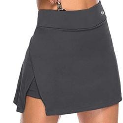 ファッションガールドレスヨガパンツ卸売価格のカスタムロゴ スポーツウェアウィメンズスカートドレス