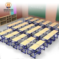 높은 금속 중간 MDF 학교 가구 학생 책상 및 의자