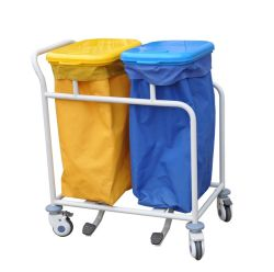 Ospedale portatile medico della mobilia Dp-T001 dell'ospedale che veste i carrelli di tela del carrello di pulizia della lavanderia dei vestiti del sacchetto del carrello