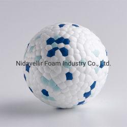 كرة بسيطة للحيوانات الأليفة لعضّ البروتوكات مصنوعة من E-TPU سلسلة تاهيتي