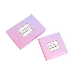 Venda por grosso de cor barato pacote Kraft Dom Doces Caixa de papel