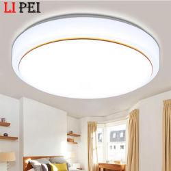 Intelligente moderne Oberfläche eingehangene Schlafzimmer-Wohnzimmer-Licht-nordische runde rosafarbene schwarze Deckenleuchte, LED-Decken-Lampe, LED-Licht
