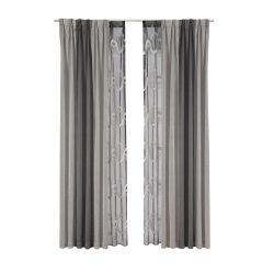 Zhida personalizados de venda por grosso de roupa moderna algodão cortina blackout