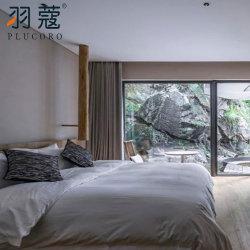 Отель Four Seasons один двойной вышивка подушками отель крышки наборы постельные принадлежности