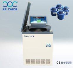 공장 H5-21kr 바닥 고수 속도 혈액 테스트 기계 냉동 온도 생물안전원심 분리기