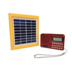 Radio solare del fornitore con il carico del telefono mobile