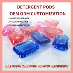 Puissant service de Blanchisserie Nettoyage en profondeur de décontamination des vêtements gouttes de gel Pod détergent
