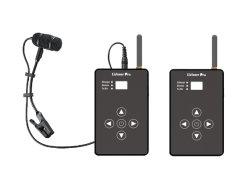Transmisor y receptor inalámbrico de 2.4GHz con sistema de micrófono de instrumentos