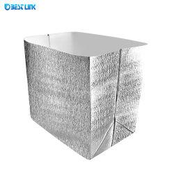 운송 식품용 알루미늄 호일 절연 백 열 절연 가방 배송 관리 쿨러 또는 따뜻한 멀티 사이즈
