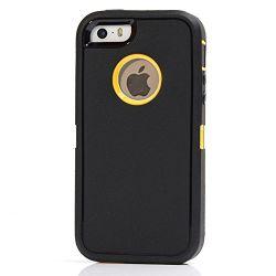 Rebot 3in1 Hochleistungsfall-Verteidiger-Telefon-Kasten-Deckel mit Riemen-Klipp für iPhone 5/5s/Se