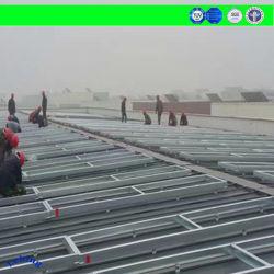 Fabricant de support de montage de panneau solaire de pieu Extrution en aluminium produits solaires Système de montage de support de masse solaire