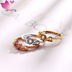 발렌타인 데이 선물 일본 한국 알파벳 Characterletter Love Ring