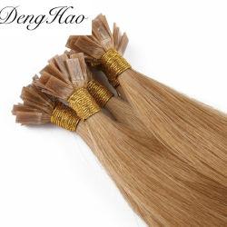 سعر حار من الأطراف شقة 100 ٪ ريمي الشعر البشرى لا إمتدادات الشعر المستعدة