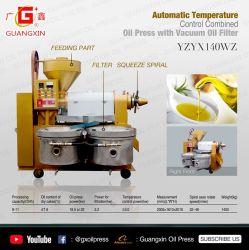 Largement utilisé la machine de production d'huile de tournesol à huile de cuisson de la machine de traitement