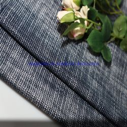 Tejido de algodón Polyester Spandex CVC Moda tela elástica de tejido traje abrigo tejido de prendas de vestir
